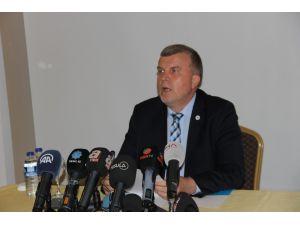 Ahmet Şan'dan basın açıklaması