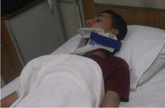 Konya'da kaza yapan Eskilli gençler yaralandı
