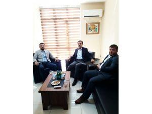 Selçuk Öztürk'ten TÜMSİAD Konya Şubesine ziyaret