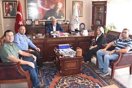 Abdülkadir Karatay'dan Niyazi Alçay'a ziyaret