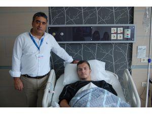 Atiker Konyaspor'lu Erdon Dacı ameliyat oldu