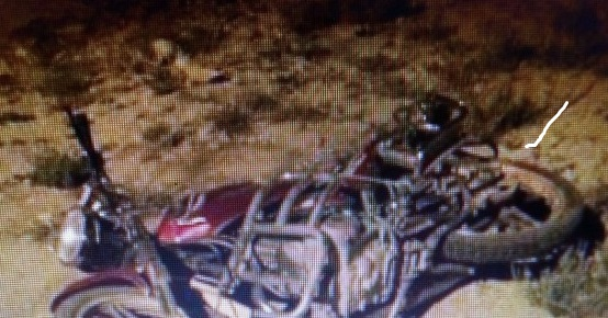 Eskil'de yine motosiklet kazası: 1 Yaralı