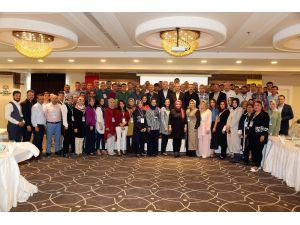 KOMEK ile İl Milli Eğitim Müdürlüğü arasında eğitim çalıştayı yapıldı