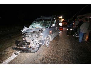 Hüyük'te Zincirleme Trafik Kazası: 2 Yaralı