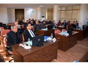 Aksaray'da 2018 Yılı Bütçesi Belediye Meclisinde Kabul Edildi