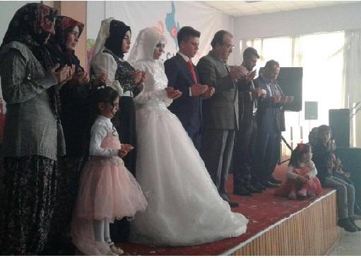 Makbule ile Mahmut evlendi