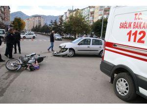 Seydişehir'de Trafik Kazası: 2 Yaralı