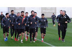 Konyaspor'un Antalya kampında ikinci gün