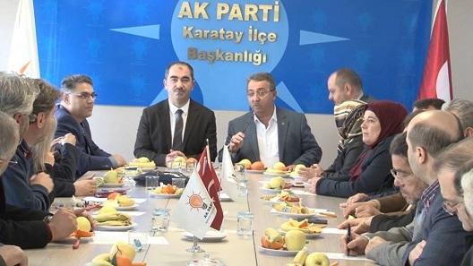 Mehmet Hançerli'den Mehmet Genç'e hayırlı olsun ziyareti