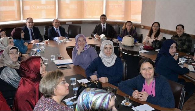'İlk Adım Ebe-Gebe Okulu Projesi' Değerlendirme Toplantısı Yapıldı