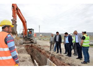 Aksaray'da alt yapı çalışmaları devam ediyor