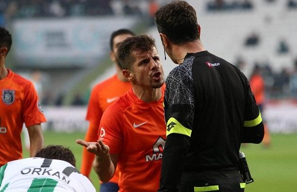Atiker Konyaspor:1 - Medipol Başakşehir:1 (Maçtan dakikalar)