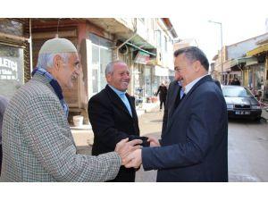 Başkan Tutal, muhtarlarla bir araya geldi
