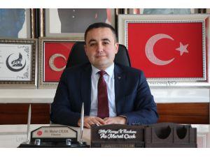 """MHP İl Başkanı Çiçek: """"Saldırıların hesabı terör örgütlerinden ve destekçilerinden sorulacak"""""""