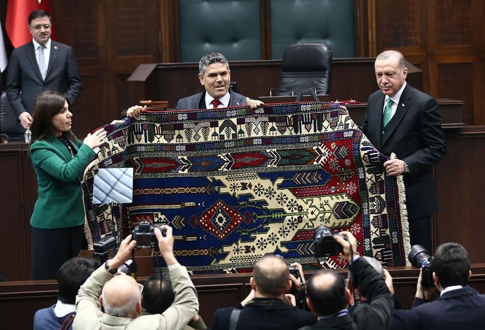 Sultanhanı ilçelik teşekkürü için Ankara çıkarması yaptı! VİDEO