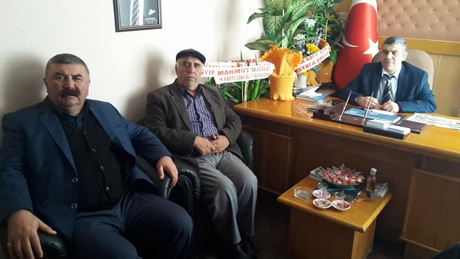 İsmail Meral'den Abdülkadir Karakaya'ya ziyaret