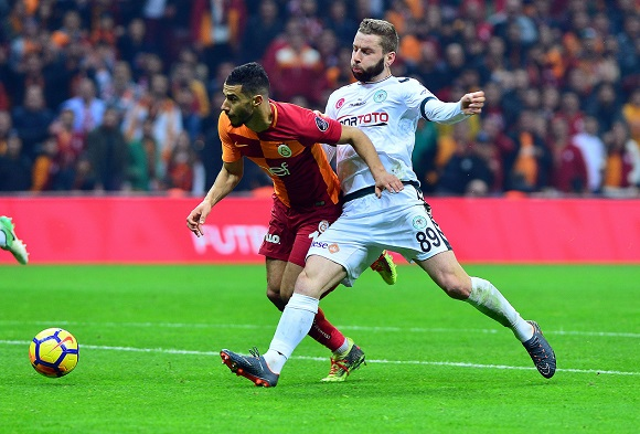 Galatasaray 2 Konyaspor 1 (maçtan dakikalar)