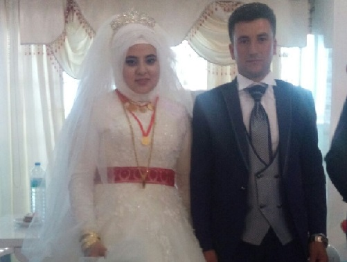 Ayşegül'le Memiş evlendi