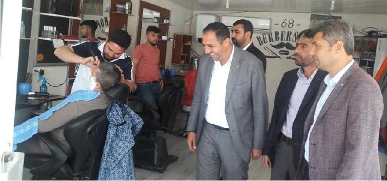 AK Parti Eskil İlçe Teşkilatı'ndan Esnaf Ziyareti