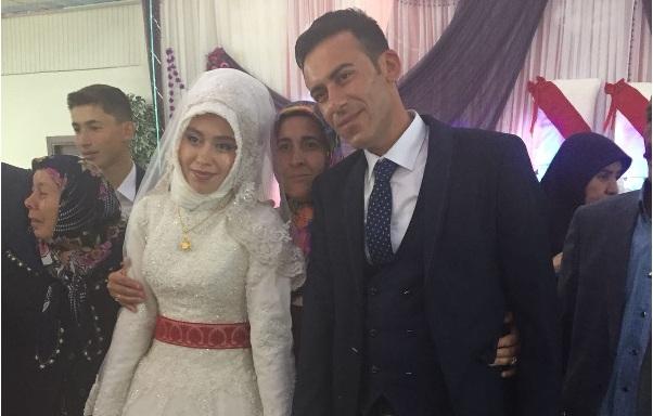 Raziye ile Fatih evlendi
