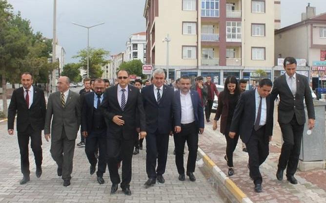 MHP Aksaray'dan Eskil çıkarması