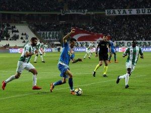 Atiker Konyaspor:1 - Göztepe:1 (Maçtan dakikalar)