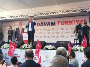 """Muharrem İnce Ereğli'de konuştu:  """"81 milyonu seviyorum ayrımcılık yapmam benim gönlüm zengin"""""""