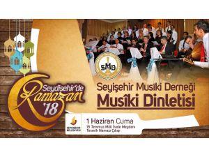Seydişehir'de Ramazan Geceleri bu yılda devam ediyor