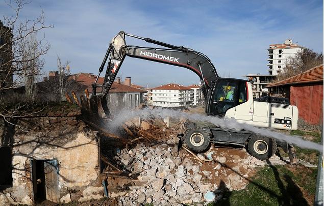 Aksaray, yıkımda Türkiye'de 2. sırada yer aldı!