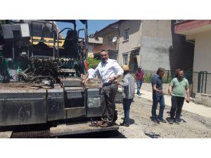 Seydişehir Belediyesi asfalt çalışmalarını sürdürüyor