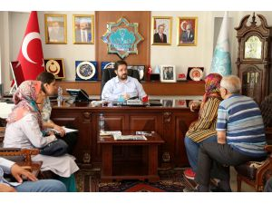 Başkan Yazgı vatandaşlarla buluşuyor