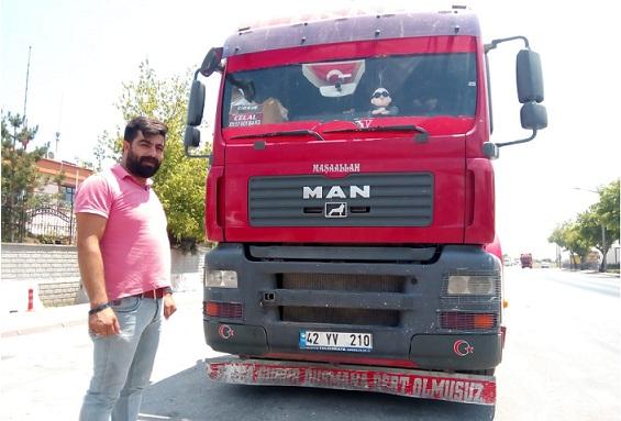 Eskil'de kamyon esnafı işlerden memnun