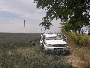 Sultanhanı'nda Tatil Dönüşü Kaza: 1 Ölü, 3 Yaralı
