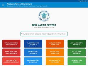 NEÜ'de yeni bir mobil uygulama hizmeti