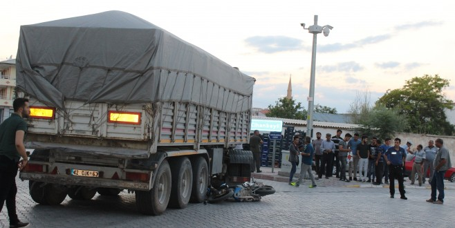 Eskil'de trafik kazası: 1 yaralı