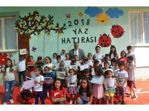 Ereğli'de çocuk atölyesinde sertifika heyecanı