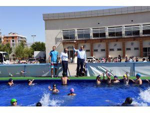 Konya'da bu yaz 52 bin çocuk yüzme öğrendi