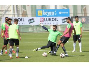 Atiker Konyaspor taktik çalıştı
