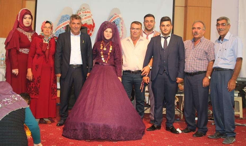 Altan ve Çakın ailelerinin mutlu günü