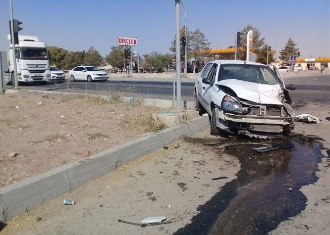 Aksaray Konya yolunda trafik kazası: 2 yaralı