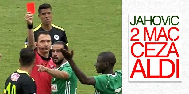 Jahovic'e 2 maç men ve para cezası