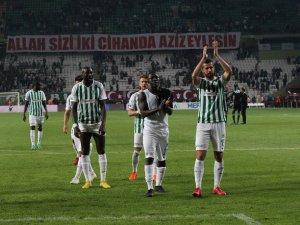 Konyaspor: 2 - Beşiktaş: 2 (Maçtan dakikalar)