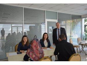 Konya SMMMO'da Uygulamalı Muhasebe Meslek Elemanı Kursu mülakatları yapıldı
