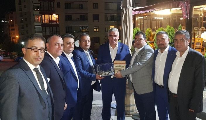 ATSO Heyeti Mega Projeler İçin Ankara'da