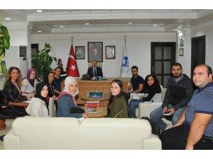 Erciyes Üniversitesi Öğrencileri Akşehir'de proje çalışması yaptı