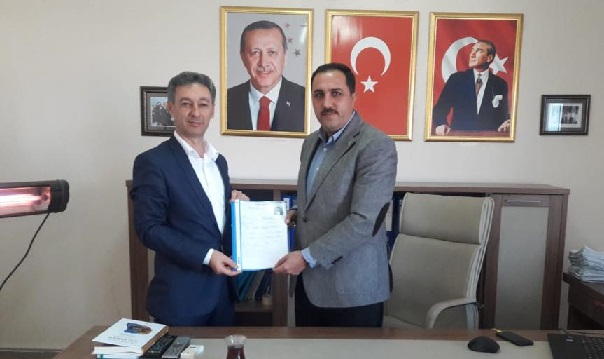 Mustafa Zavlak aday adaylığı müracaatında bulundu