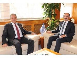 Vali Toprak'dan Başkan Altay'a ziyaret