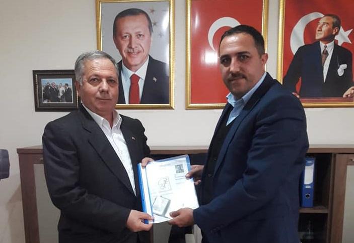 Mehmet Öztürk AK Parti Eskil İl Genel Meclis Üyesi Aday Adayı oldu