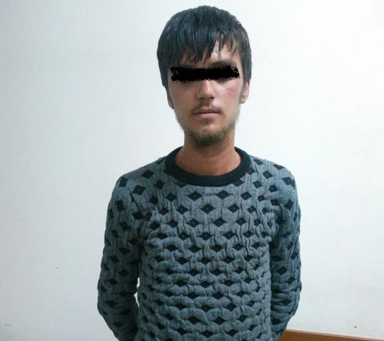 Suçüstü yakalanan kablo hırsızı tutuklandı