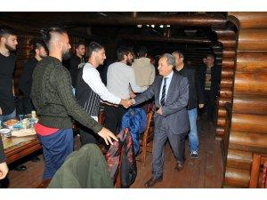Başkan Akkaya'dan Akşehirspor'a motivasyon yemeği